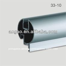 guangdong feita de liga de zinco partição wc porta de alumínio frame