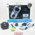 As Crianças Pequenas Carros De Brinquedo 1:18 Escala 4 Canal Polícia RC Car Racing R20640