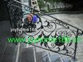 De hierro forjado barandilla de la escalera/galvnized para barandilla de la escalera y balcón