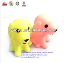por encargo de plástico pequeñas figuras de perro
