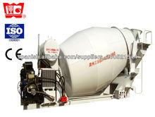 6m3 Mezcladoras de concreto con motor diésel