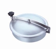 sanitaria de aceroinoxidable tanque de plaza cubierta de boca para laindustria de leche y productos lácteos