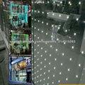 KAHO vidrio LED luminoso para particiones