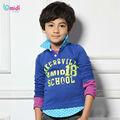 niños fabricante de ropa camisa de los niños varones en stock ropa de los niños