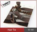 """De nylon del spandex 5/8"""" escarcha niñas bandas para el cabello escarcha bandas elásticas del pelo"""