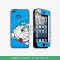 2014 colorido y hermoso de dibujos animados protector de pantalla de cristal templado para el iphone 5