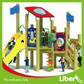 Comercial utilizado niños juegos infantiles de madera al por mayor de LE.MZ. 018