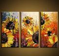 hermosa flor diseña la pintura de tela