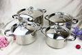 2014 nuevos productos 16 piezas de alta calidad de acero inoxidable ollas/utensilios de cocina conjunto/sartén