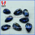 pêra azul pedra coríndon sintético