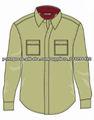 100% de algodão dos homens camisas de flanela atacado