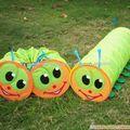 Bebé Oruga Túnel juguetes para los niños Juego Tubo Túnel Pop Up Tent Descubrimiento