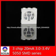 rgb led smd 5050 eau claire diode pour led light strip