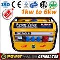 الصين مصنع سعر 3kw 3 kva العاكس مولدات كهربائية منزلية