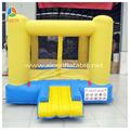 Lovely brilhando amarelo pulando de casa, Bouncer inflável pequeno