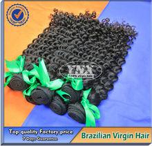 Caliente venta al por mayor de la reina de pelo productos de grado 6a alta calidad 100% brasileño cabello tejido