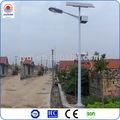 precio de 8m 40w lámpara led para la energía solar farolas led