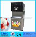 comercial 3 Flavours máquina de yogurt congelado