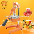 Jugo de frutas extractor/la aprobación del ce/bebidas maquinaria
