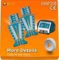 uso de la máquina de masaje presoterapia casa IHAP318