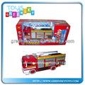 eléctrica de extinción de incendios y de servicio de camiones de juguete para los niños