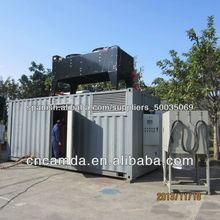 Combinado de calefacción y generador de energía de la planta de energía 20kw-1000kw