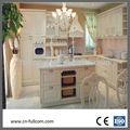 Modern style campagnard blanc, armoires de cuisine en bois massif( chêne. cendres. cerise. birmanie teck)