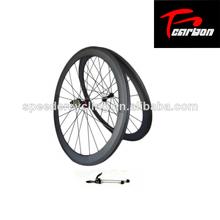 De carbone roues à pneus de 50mm, hub novatec roues en carbone, de carbone roues de vélo pas cher
