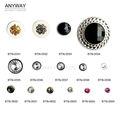 botones hecho de rhingstone/diamante imitación adornado