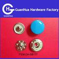 broche de presión del botón del metal botones para la ropa