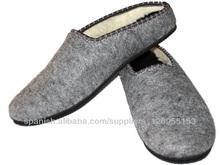 zapatillas de fieltro
