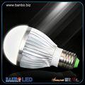 De color blanco puro aluminio bombilla 3w-24w 3.6v bombilla led