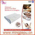 Moldeado cervical del cuello almohadas de la cama, extraíble con cremallera cubierta