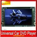 Precio más bajo de alto rendimiento 6.2 pulgadas de vídeo de coches reproductor de dvd con el bluetooth de vídeo