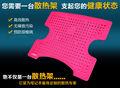 Berrantes laptop cooling pad materiais de silicone( produto comestível) com proteção de segurança
