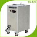 Cosbao distribuidor prato aquecimento carrinho/carrinho de cozinha( bn- b26)