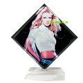 sublimación de cristal de cristal de DIY fotos