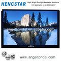 Pulgadas 32 quiosco del marco abierto, publicidad al aire libre pantalla led de visualización de los precios