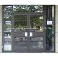 Francés puertas metálicas exteriores de alta calidad para los edificios de oficinas
