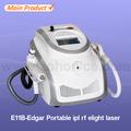 E11B-Edgar Nd: YAG RF E-luz en una sola máquina para la depilación