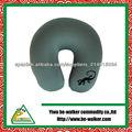 BBP0002-246-Cuello almohada de viaje de diseño-lagarto,Flocado de impresión