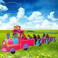 colorido eléctrico tren centro comercial para la venta barato