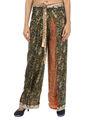 Hippie de moda los pantalones para damas, el último pantalones de verano, la india impreso pantalones