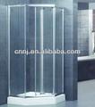 ( um- 022e) de tamanho padrão de vidro do chuveiro pivô porta articulada