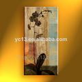 lienzo abstracto pintura al óleo para el hotel