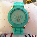 Yx6030 eletrônico- amigável silicone marca de relógios suíços