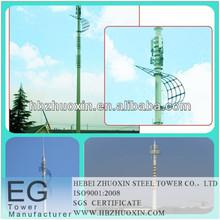 directa de la fábrica de acero monopolo telecomunicaciones torre de antena