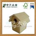 Super calidad de madera casa del pájaro, bricolaje casa del pájaro