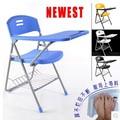 Nuevo pupitre plegable para colegios con mesa de escritura grande para los estudiantes y silla con gran capacidad de soporte de peso