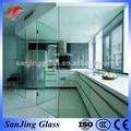 decorativa de vidro temperado para painéis de portas